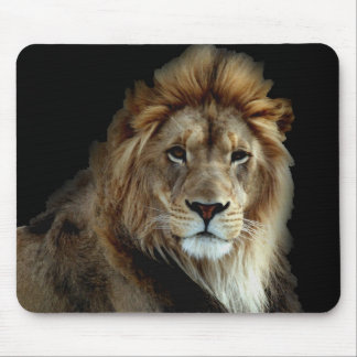 Proud King of the Animal Kingdom Mouse Pads