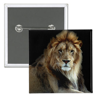 Proud King of the Animal Kingdom Pinback Button