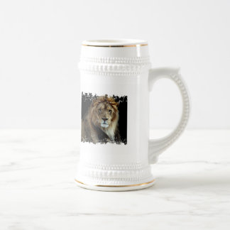 Proud King of the Animal Kingdom Stein