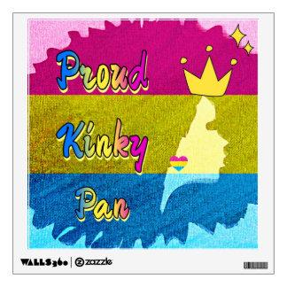 Proud Kinky Pan Collection Wall Decal