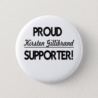 Proud Kirsten Gillibrand Supporter! Button