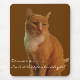 Proud Kitty Mouse Pad