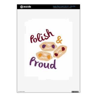 Proud Kolaczki iPad 3 Skin