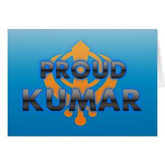Proud Kumar, Kumar pride Greeting Cards