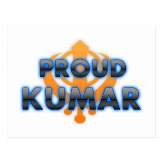 Proud Kumar, Kumar pride Post Card