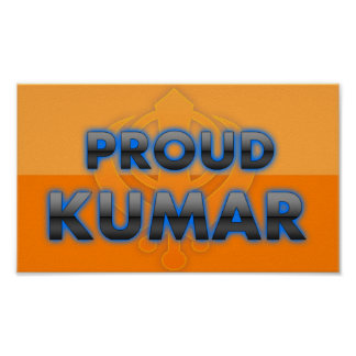 Proud Kumar, Kumar pride Poster