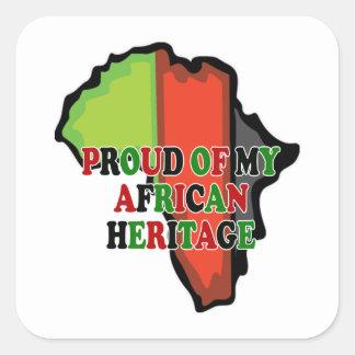 Proud Kwanzaa Holiday Sticker