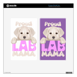 Proud Labrador Mom! For proud Labrador moms! Kindle Fire Decals