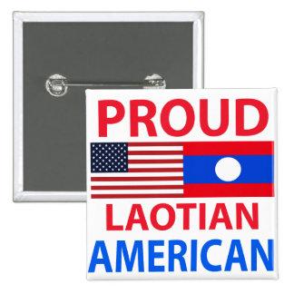 Proud Laotian American Button