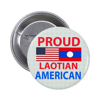 Proud Laotian American Buttons