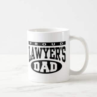 Proud Lawyer's Dad Coffee Mug