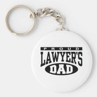Proud Lawyer's Dad Keychain
