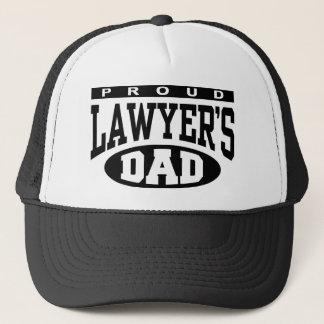 Proud Lawyer's Dad Trucker Hat