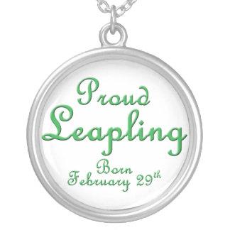Proud Leapling Leap Year Birthday Jewelry