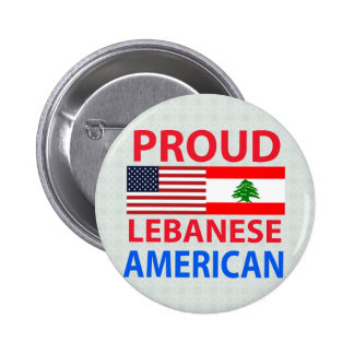 Proud Lebanese American Buttons
