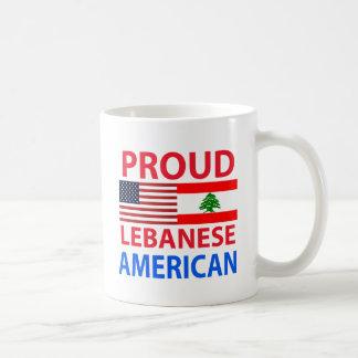 Proud Lebanese American Coffee Mug