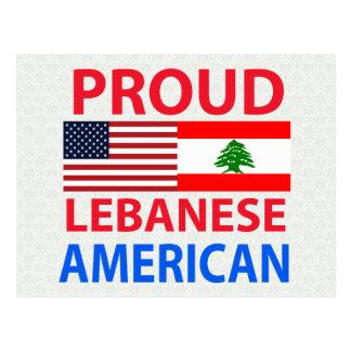 Proud Lebanese American Postcards