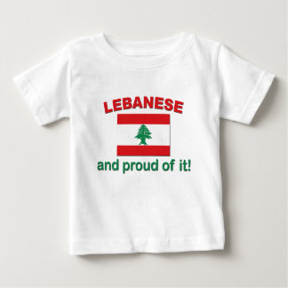 Proud Lebanese Baby T-Shirt