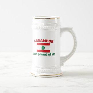 Proud Lebanese Beer Stein