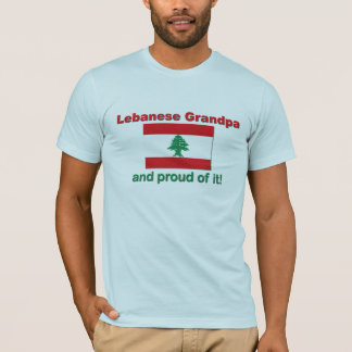 Proud Lebanese Grandpa T-Shirt