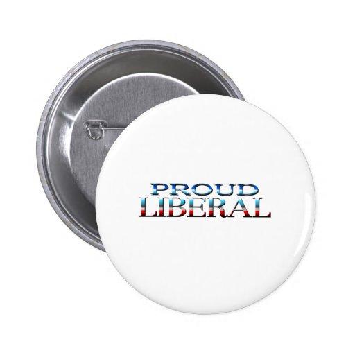 Proud Lib00 Pinback Buttons