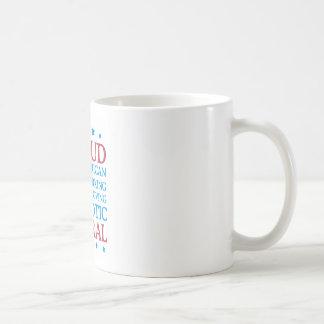proud liberal coffee mug
