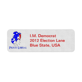 Proud Liberal Label