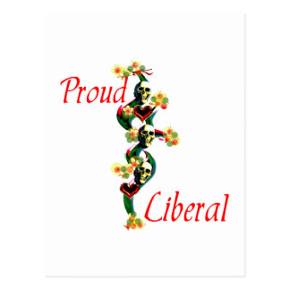 Proud Liberal Postcard