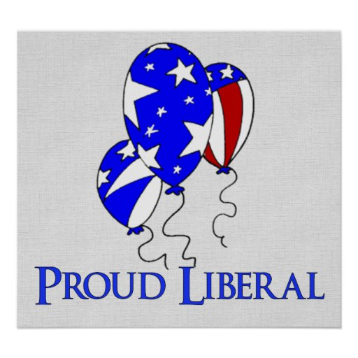 Proud Liberal Poster