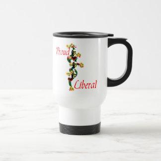 Proud Liberal Travel Mug