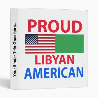 Proud Libyan American Binders