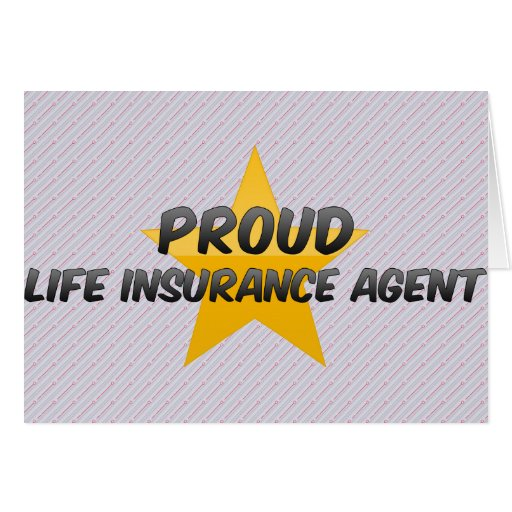 Proud Life Insurance Agent Card