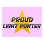 Proud Light Porter Postcard