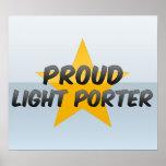 Proud Light Porter Posters