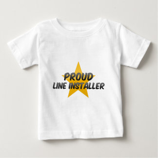 Proud Line Installer Tshirts