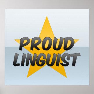 Proud Linguist Posters