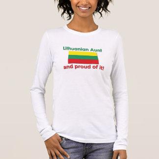 Proud Lithuanian Aunt Long Sleeve T-Shirt