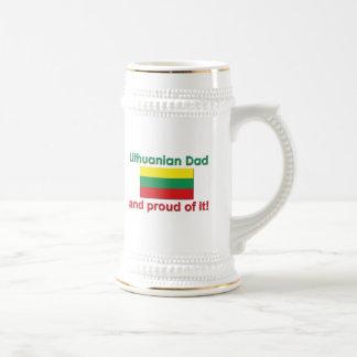 Proud Lithuanian Dad Coffee Mugs