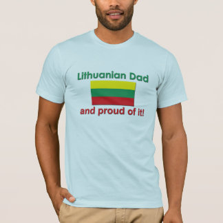Proud Lithuanian Dad T-Shirt