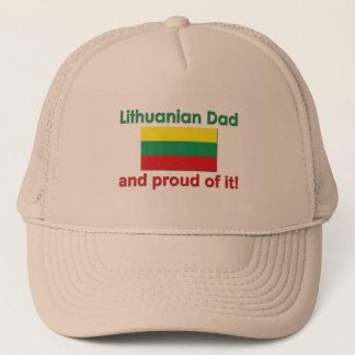Proud Lithuanian Dad Trucker Hat
