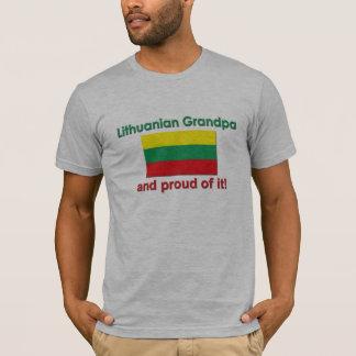 Proud Lithuanian Grandpa T-Shirt