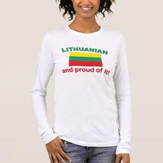 Proud Lithuanian Long Sleeve T-Shirt
