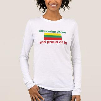 Proud Lithuanian Mom Long Sleeve T-Shirt