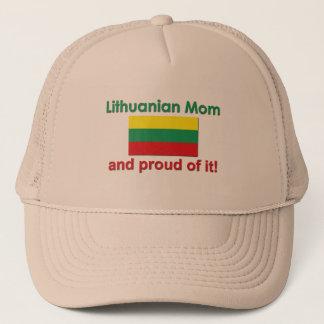 Proud Lithuanian Mom Trucker Hat