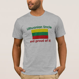 Proud Lithuanian Uncle T-Shirt