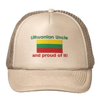 Proud Lithuanian Uncle Trucker Hat