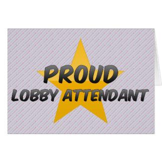Proud Lobby Attendant Cards
