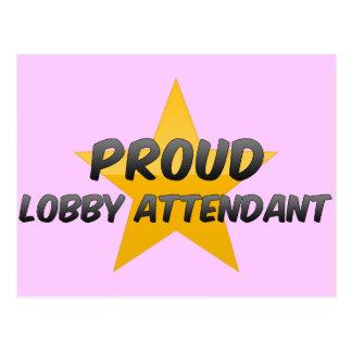 Proud Lobby Attendant Postcards