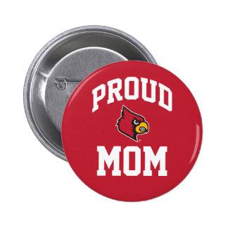 Proud Louisville Mom Button
