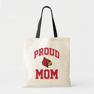 Proud Louisville Mom Tote Bag